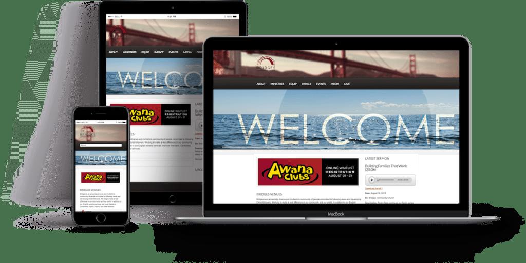 Bridges Community Church Website