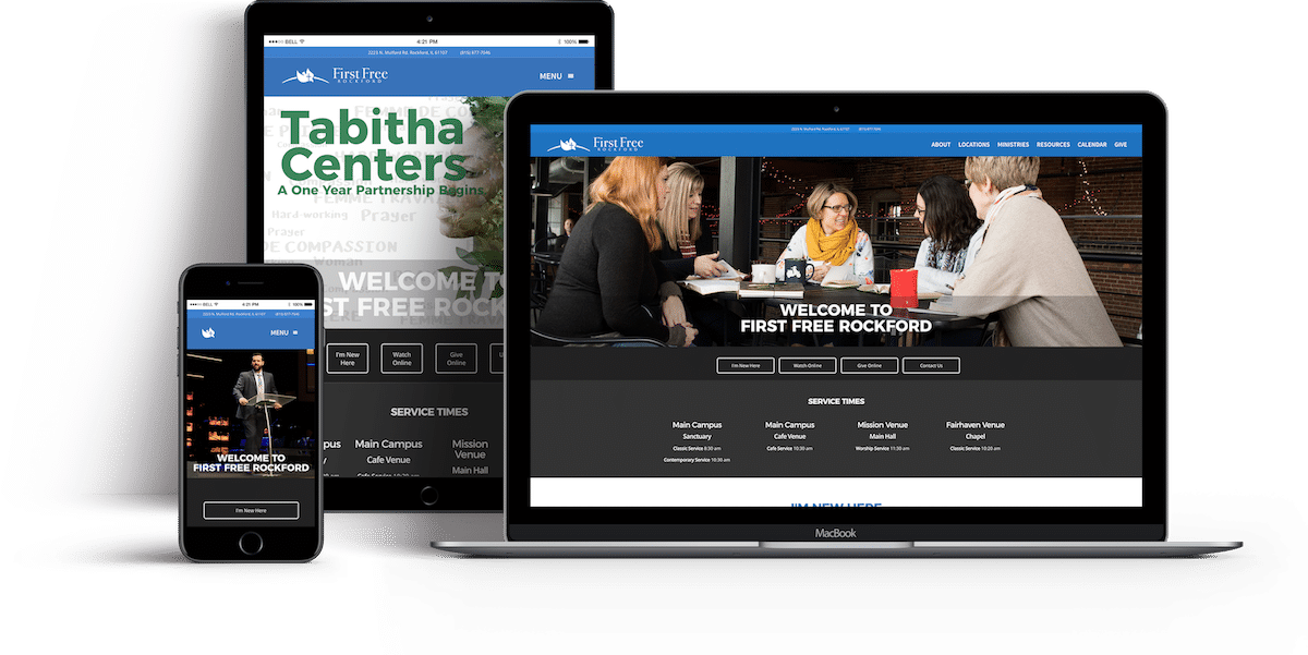 First Free Rockford Website