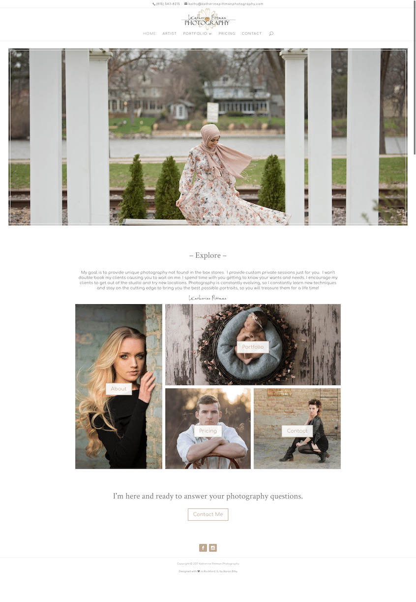 Katherine Pittman Photography Home Page