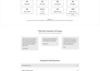 Katherine Pittman Pricing Page
