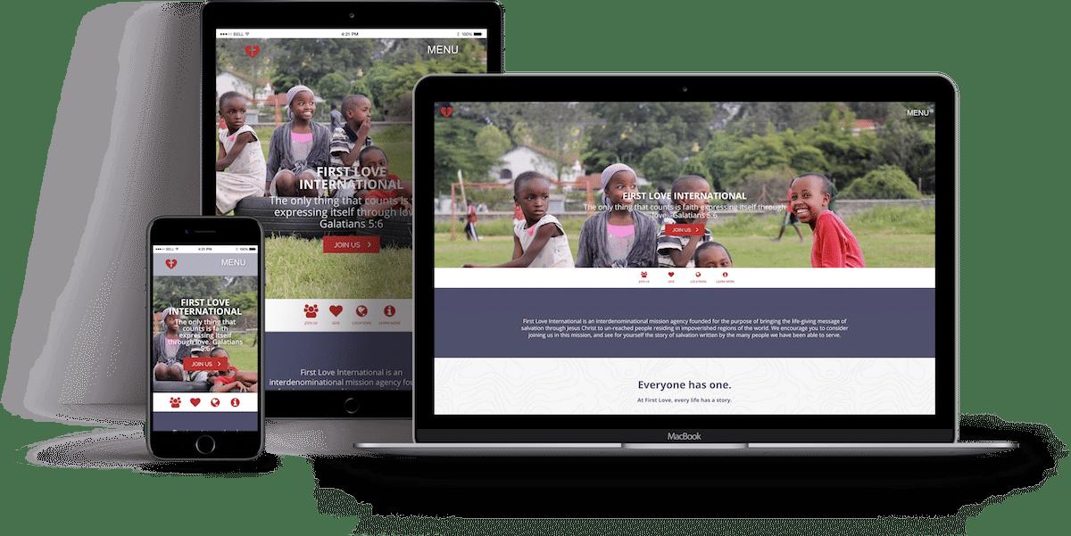 First Love International Responsive Site
