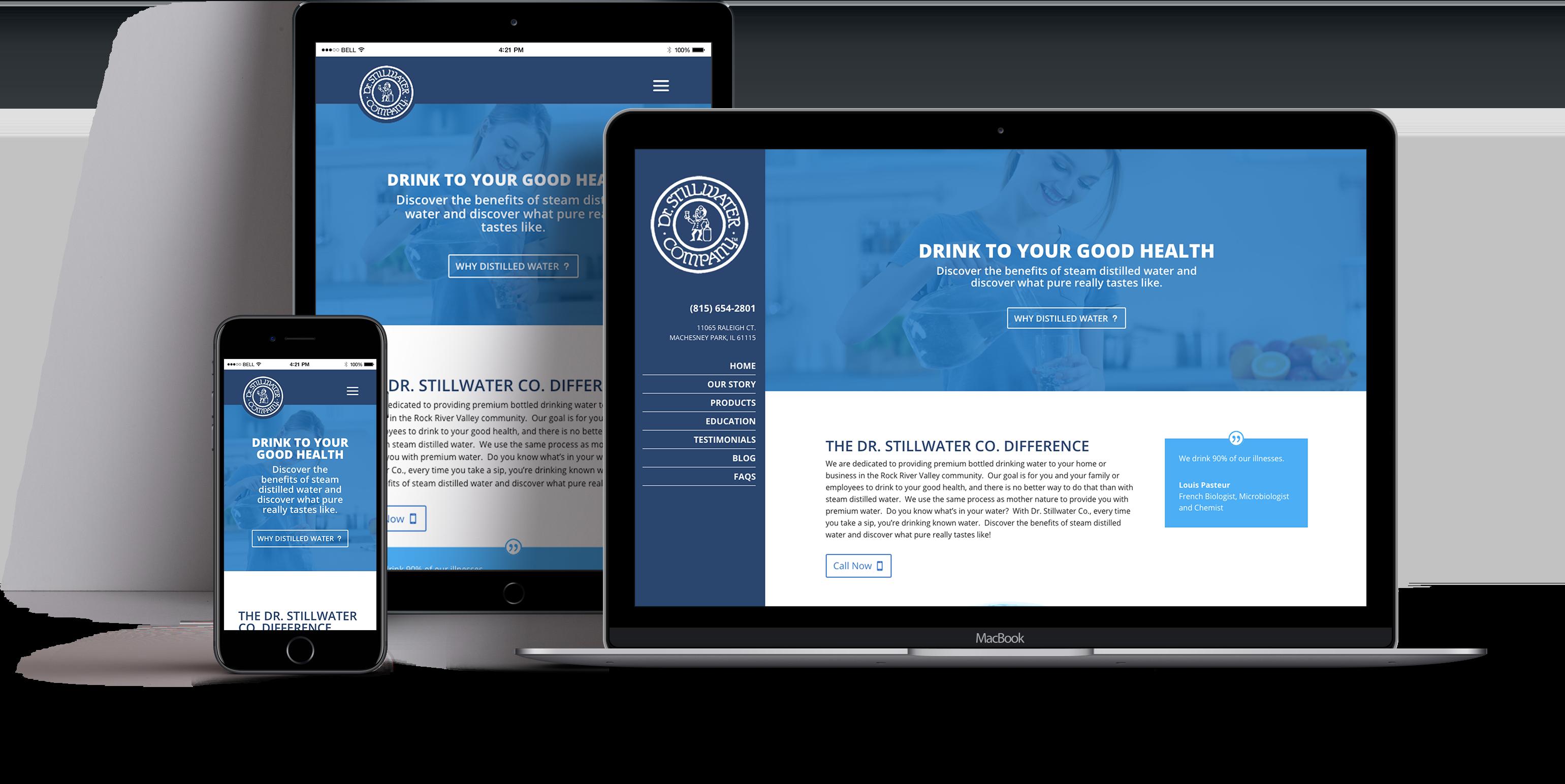 Doctor Stillwater Company Website