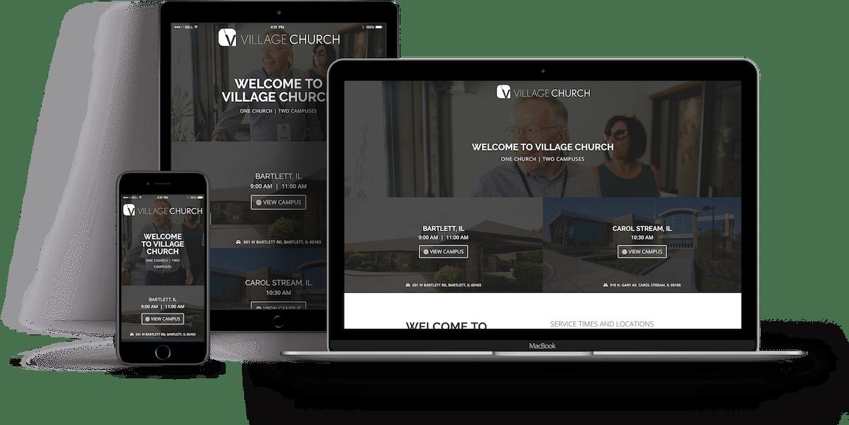 Village Church Wordpress Website