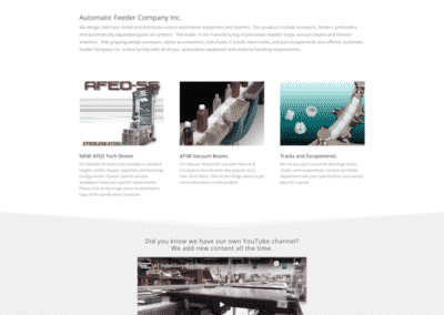 Automatic Feeder Company Inc Homepage