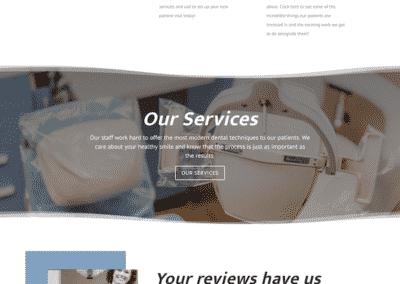 Joiner Family Dental Homepage