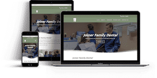 Joiner Family Dental Website Project