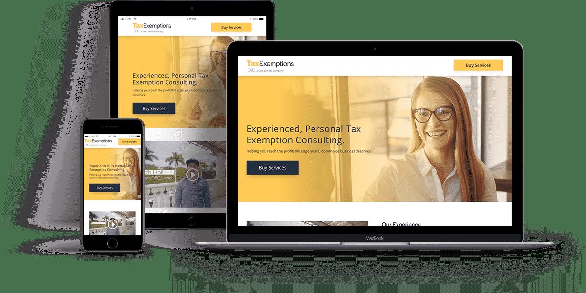Tax Exemptions Website